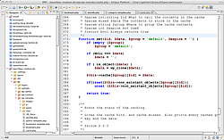 Editor für Webentwicklung